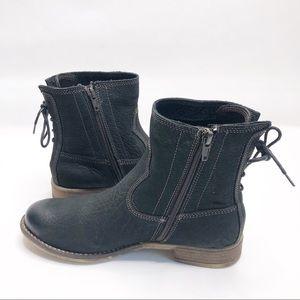 Josef Seibel Sienna 01 Black Lace Bootie Size 37